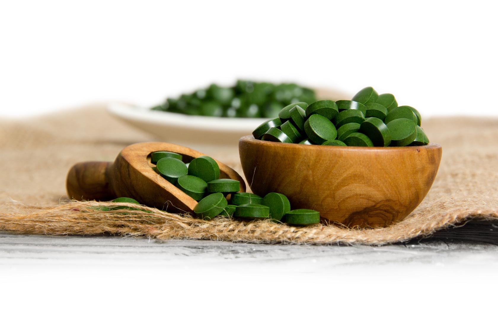 Spirulina tabletki 100g ok 400 szt agnex przyprawy i for Spirulina w tabletkach