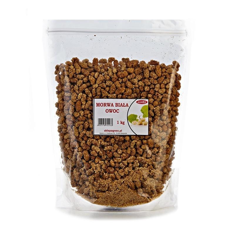 7c97aabbc18068 Morwa biała suszona owoc 1 kg Agnex - przyprawy i dodatki do żywności
